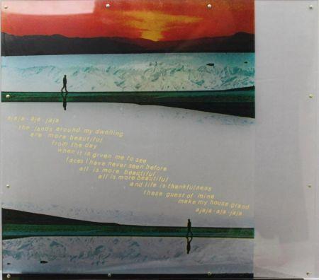 シルクスクリーン Rauschenberg - Opal Gospel Panel VI