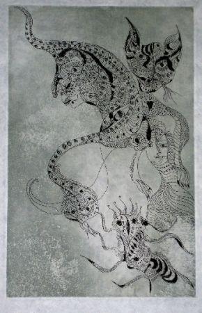 エッチングと アクチアント Zurn - Oracles et spectacles (2)