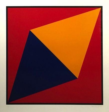 シルクスクリーン Hinman - Orange Triangle