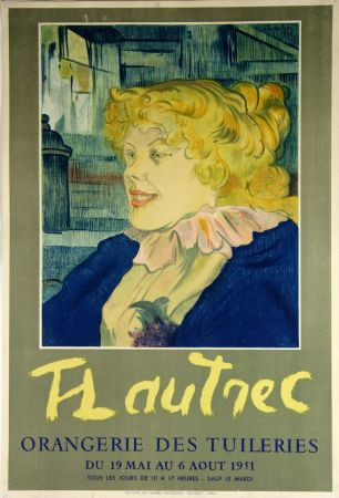 リトグラフ Toulouse-Lautrec - Orangerie Des Tuileries