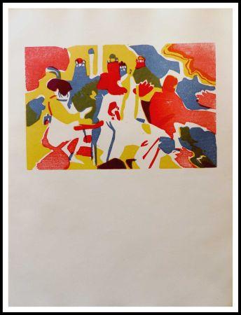 木版 Kandinsky - ORIENTALES
