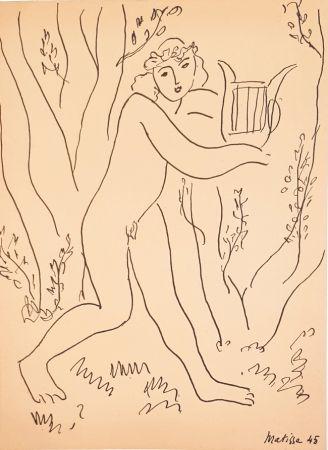 技術的なありません Matisse - Orphée  Les Musiciens Celébres
