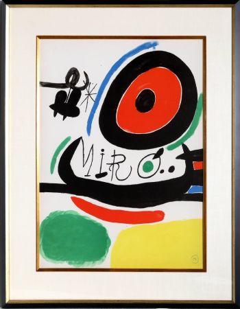 リトグラフ Miró - Osaka Exhibition (M. 680)