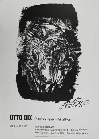 リトグラフ Dix - Otto Dix Zeichnungen - Grafiken