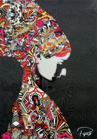 シルクスクリーン Prefab77 - Oulandos D'amour - Black/Gold