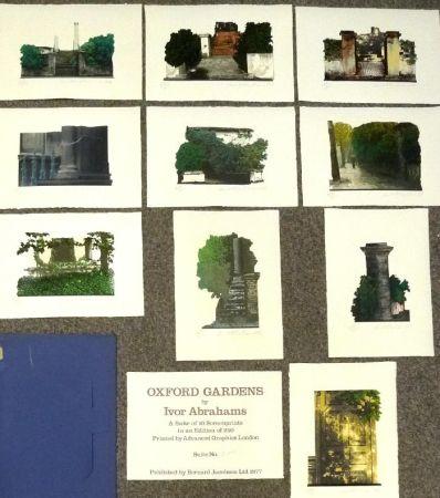 シルクスクリーン Abrahams - Oxford Gardens I-X