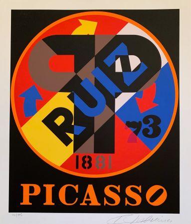 シルクスクリーン Indiana - Pablo Picasso