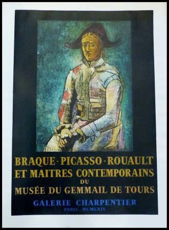 掲示 Picasso - PABLO PICASSO, MUSÉE DU GEMMAIL À TOURS GALERIE CHARPENTIER