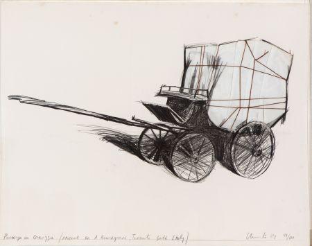 多数の Christo - Package on carrozza