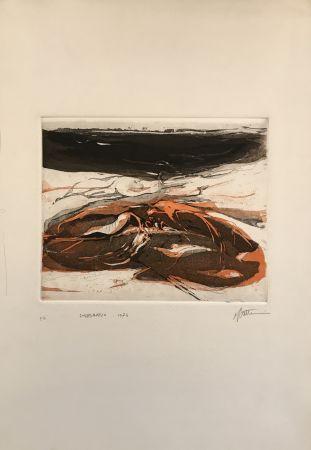 エッチングと アクチアント Frattini - Paesaggio