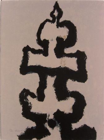 シルクスクリーン Zhang - Pagoda