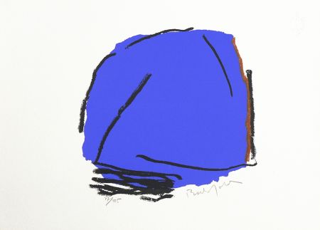 シルクスクリーン Bechtold - Palma Azul