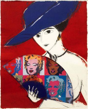 彫版 Valdés - Pamela I (Warhol)