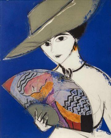 エッチングと アクチアント Valdés - Pamela III - Chagall