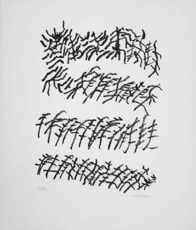 リトグラフ Michaux - Par la voie des rythmes