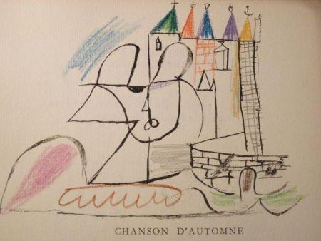 挿絵入り本 Roux - Par Robert Ganzo. Avec vingt-trois lithographies rehaussées de couleurs de Gaston-Louis Roux.