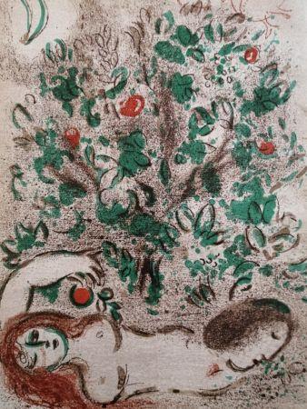 リトグラフ Chagall - Paradis