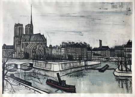 ステンシル Buffet - Paris - Notre-Dame et la Cité