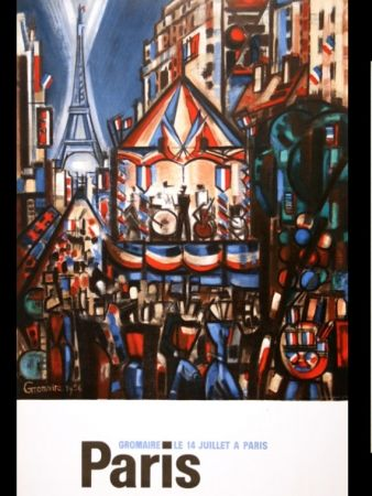 掲示 Gromaire - PARIS 14 JUILLET