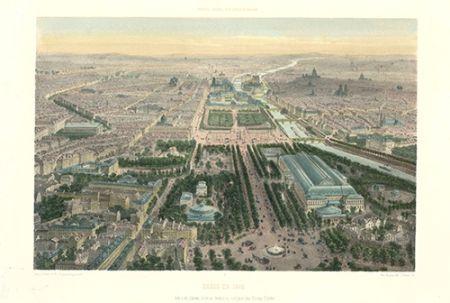 リトグラフ Benoist - Paris en 1860