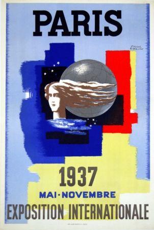 リトグラフ Carlu - Paris Exposition Internationale    1937