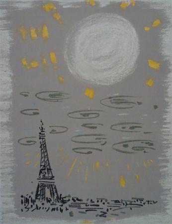 リトグラフ Masson - Paris: La Tour Eiffel