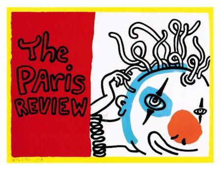 シルクスクリーン Haring - Paris Review