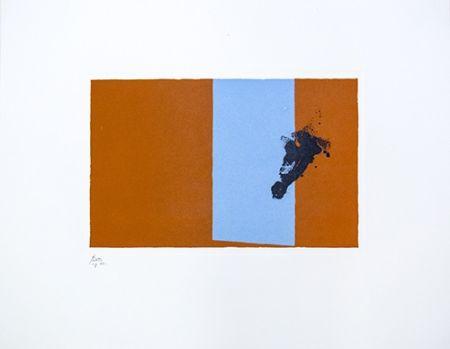 リトグラフ Motherwell - Paris Suite III - Autumn