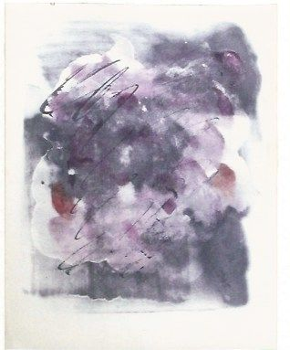 シルクスクリーン Fautrier - Paroles paintes