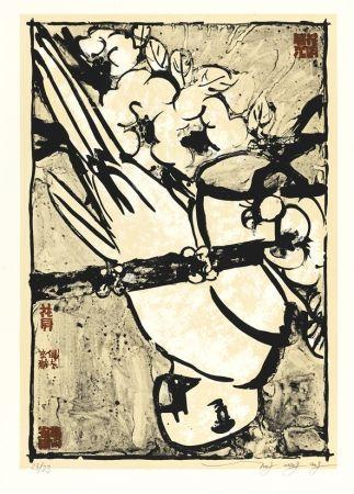 リトグラフ Tongzhengang - Parrot
