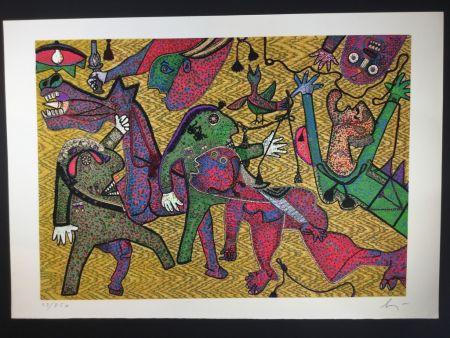 多数の Baj - Particolare di Guernica