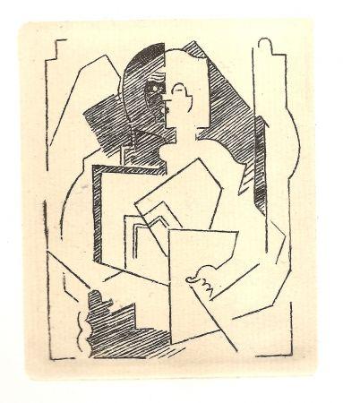 彫版 Gleizes - Pascal.  Pensées sur l'homme et Dieu (restrikes of 22 etchings)