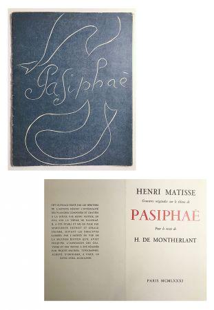挿絵入り本 Matisse - Pasiphae - Livret de présentation en reproduction
