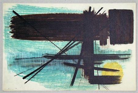 オフセット Hartung - Pastel P. 1950-3