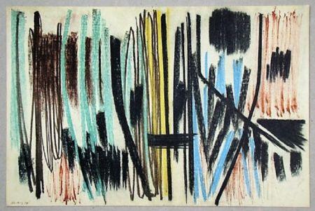 オフセット Hartung - Pastel P. 1950-4