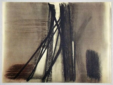 オフセット Hartung - Pastel P. 1953-10