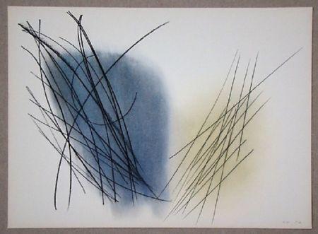 オフセット Hartung - Pastel P. 1957-31