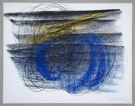 オフセット Hartung - Pastel P. 1958-91