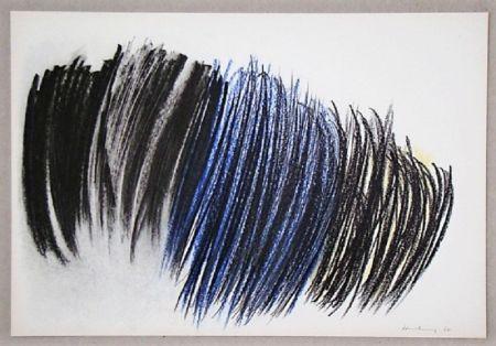 オフセット Hartung - Pastel P. 1960-116