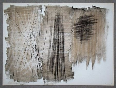オフセット Hartung - Pastel P. 1960-165