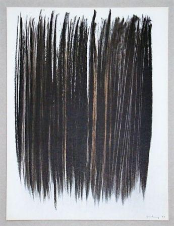 オフセット Hartung - Pastel P. 1960-76