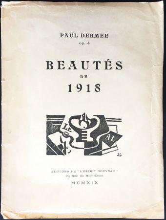 挿絵入り本 Gris  - Paul Dermée : BEAUTÉS DE 1918. Illustrations de Juan Gris.