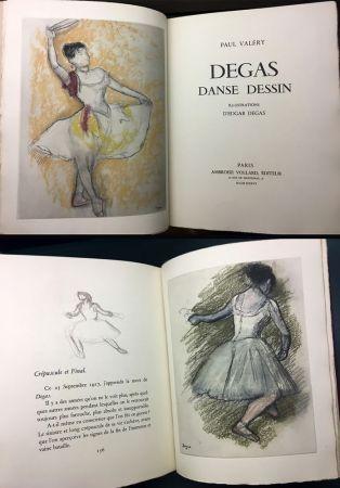 挿絵入り本 Degas - Paul Valéry : DEGAS DANSE DESSIN (Vollard, Paris 1936).
