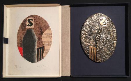 多数の Papart - PAVANE. Une eau-forte signée et un bronze (1977).