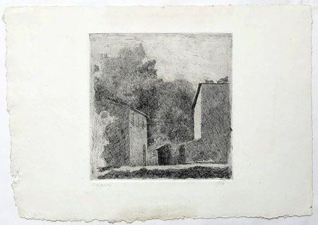 彫版 Morandi - Paysage