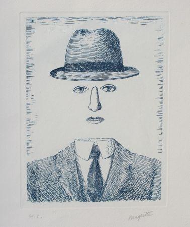 エッチング Magritte - Paysage de Baucis
