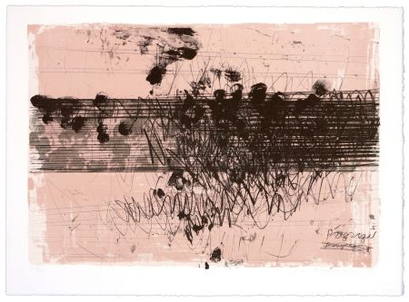 リトグラフ Denning - Paysage II