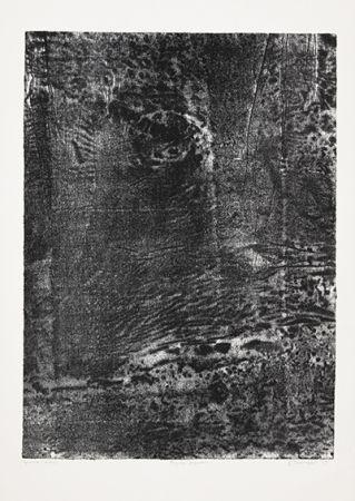 リトグラフ Dubuffet - Paysage japonais