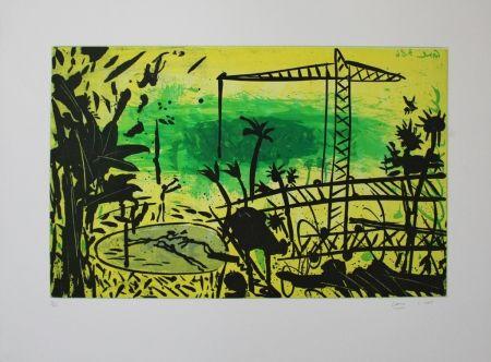 アクチアント Cane - Paysage jaune