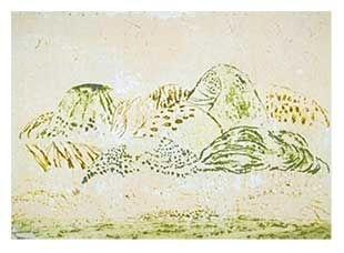 彫版 Music - Paysage Siennois